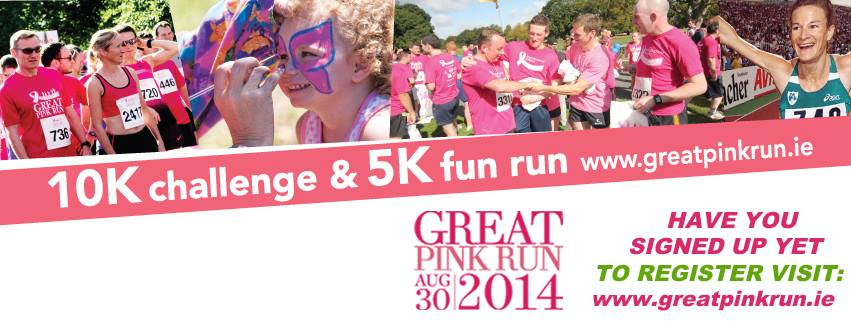 Great Pink Run in Phoenix Park