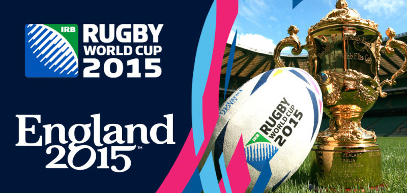 Rugby World Cup 2015 England logo