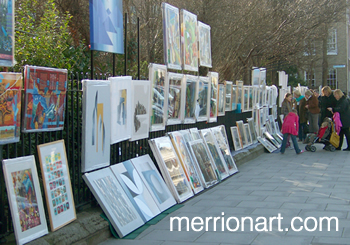 Merrion Square Art