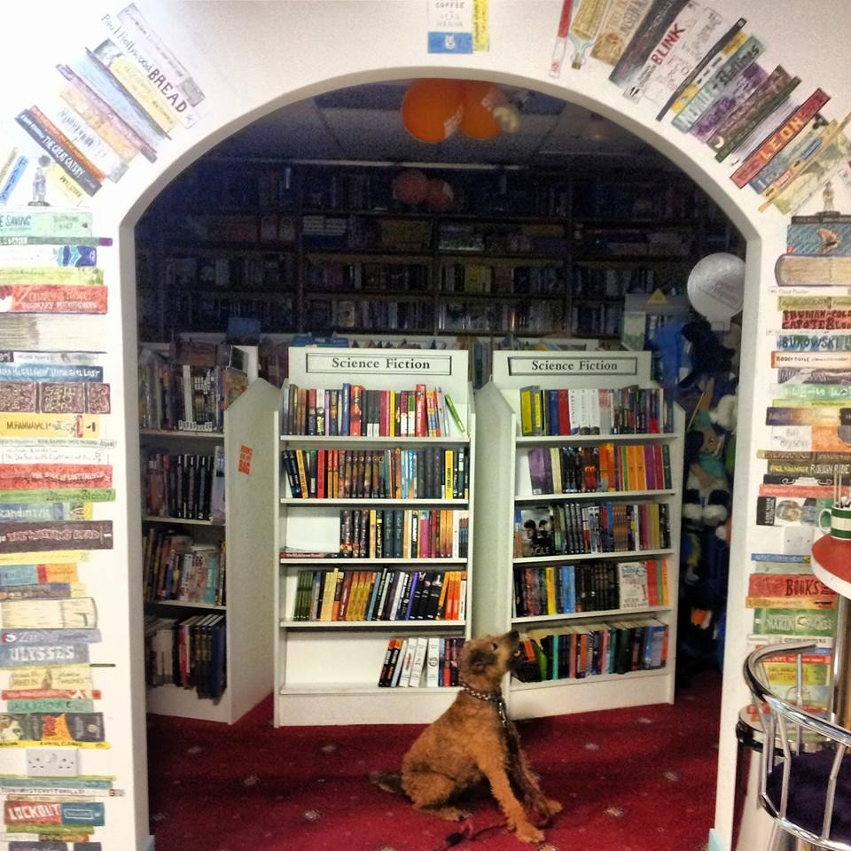 Bark Café at Alan Hanna's Bookshop